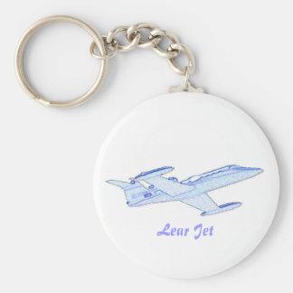 Lear Jet Key Ring
