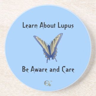 Learn About Lupus - Be Aware and Care Coasters