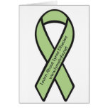 Learn About Lyme Disease Blank Notecard Greeting Card