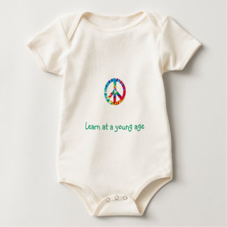 Learn at a young age baby bodysuit