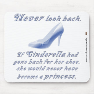 Learn from Cinderella's Shoe Mouse Pad