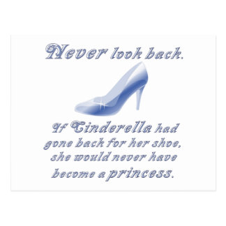Learn from Cinderella's Shoe Postcard