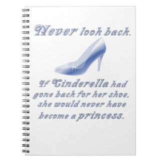 Learn from Cinderella's Shoe Spiral Notebook