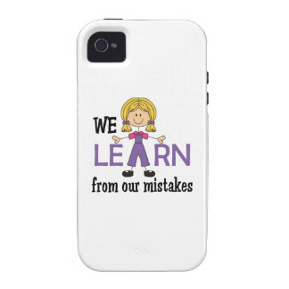 LEARN FROM MISTAKES Case-Mate iPhone 4 CASES