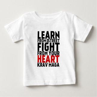 Learn from the Street Krav Maga black T Shirt
