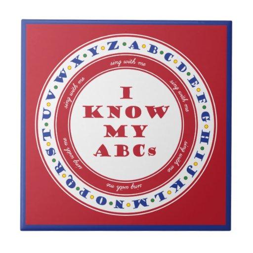 Learn the Alphabet Tile