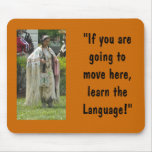 Learn the Language Mousepads