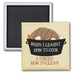Learn to Cook Fridge Magnets
