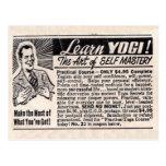 """Learn Yogi"" Postcard"
