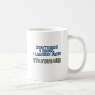 Learned from Television Coffee Mug