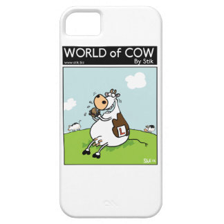 Learner Cow iPhone 5 Case
