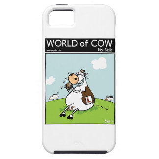 Learner Cow iPhone 5 Cover