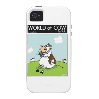 Learner Cow Vibe iPhone 4 Case