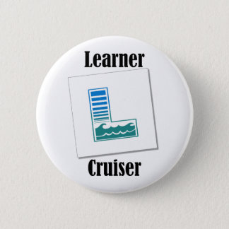Learner Cruiser 6 Cm Round Badge