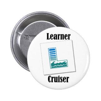 Learner Cruiser 6 Cm Round Badge