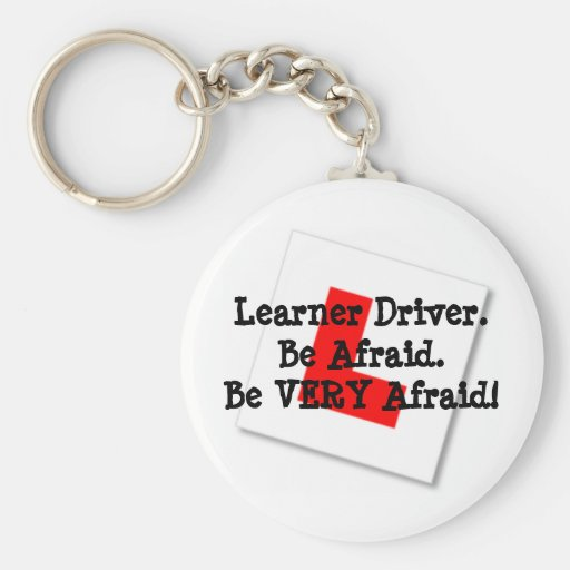 Learner Driver Key Chains