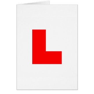 Learner Symbol Greeting Card