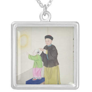 Learning about Spiritualism Silver Plated Necklace