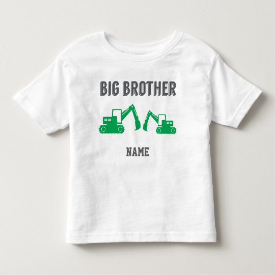 Learning Candy Big Brother Excavator Toddler T-Shirt