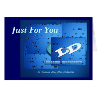 Learning Difference Collection Greeting Card