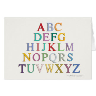learning, letters, alphabet card