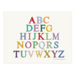 learning, letters, alphabet post cards