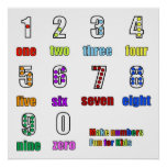 LEARNING NUMBERS FUNTIME POSTER