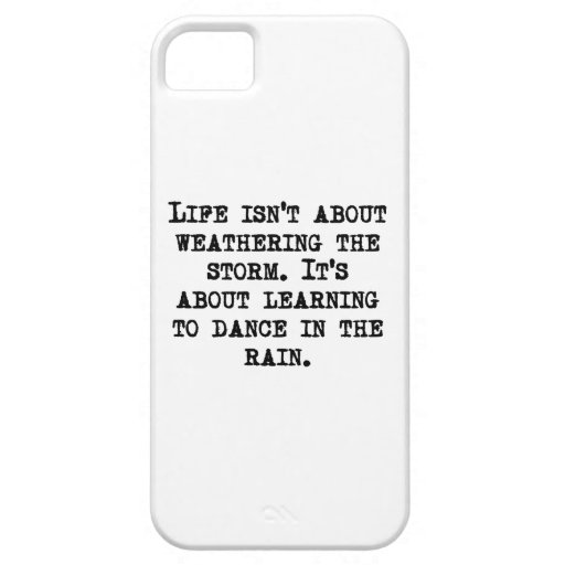 Learning To Dance In The Rain iPhone 5 Covers