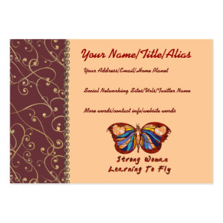 Learning To Fly Pack Of Chubby Business Cards