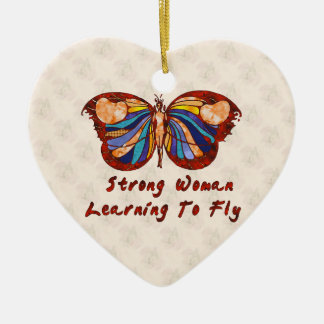 Learning To Fly Christmas Ornament