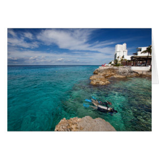 Learning To Scuba Dive, Cozumel Mexico Card