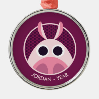 Leary the Pig Christmas Ornament