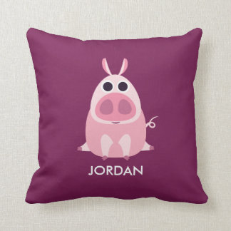 Leary the Pig Cushion