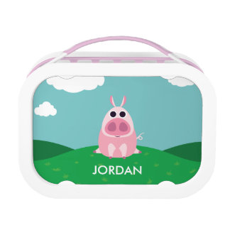 Leary the Pig Lunch Box