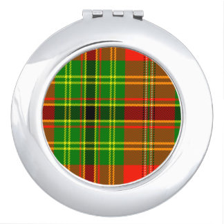 Leask Scottish Tartan Vanity Mirror