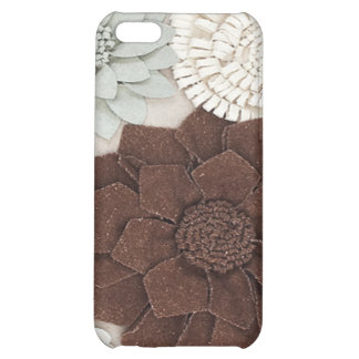 leather and suede look I Phone Case Cover For iPhone 5C