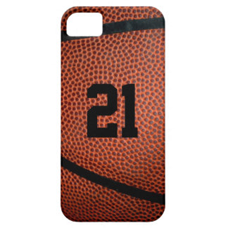 Leather Basketball Phone Case Barely There iPhone 5 Case