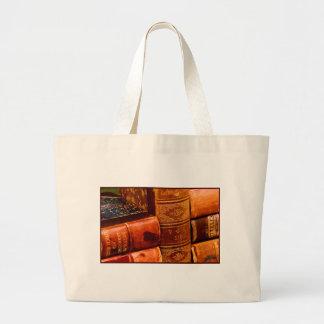 Leather Bound Books Bag