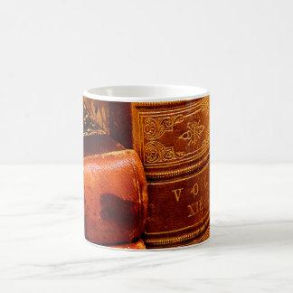 Leather Bound Books Coffee Mug