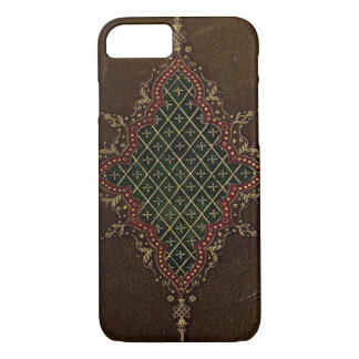 Leather Bound Grunge Book Texture iPhone 8/7 Case