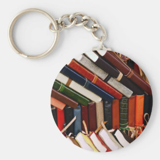 Leather-Bound Journals Key Ring