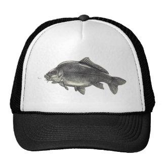Leather Carp Fishing Cap