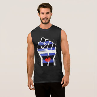 LEATHER DADDIES RESIST - LGBT RESISTANCE -- - SLEEVELESS SHIRT