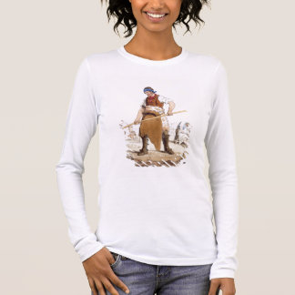 Leather Dresser, from 'Costume of Great Britain' p Long Sleeve T-Shirt