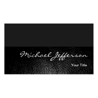 Leather Effect Consultant Engineer Business Card