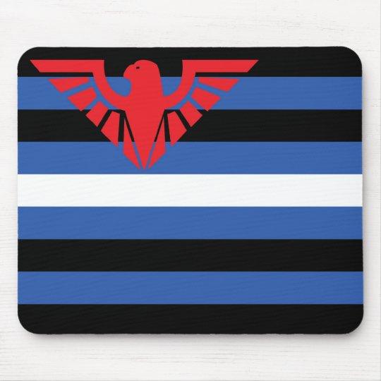 Leather Flag (Eagle) Mouse Pad