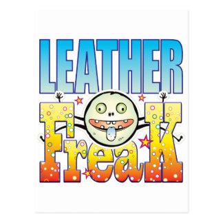 Leather Freaky Freak Postcard