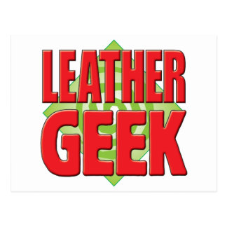 Leather Geek v2 Postcard