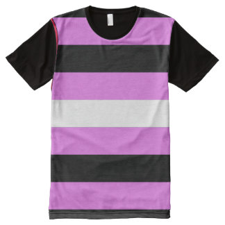Leather Girl Pride All-Over Print T-Shirt