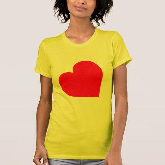 LEATHER HEART SYMBOL TEES